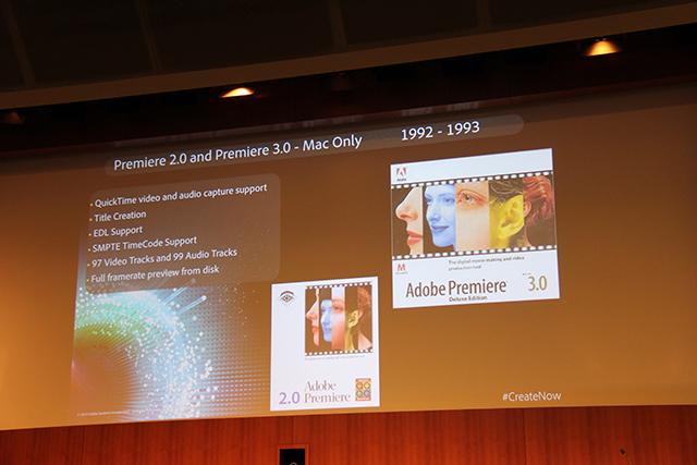 Premiere Pro World Conference: The History of Premiere Pro 1
