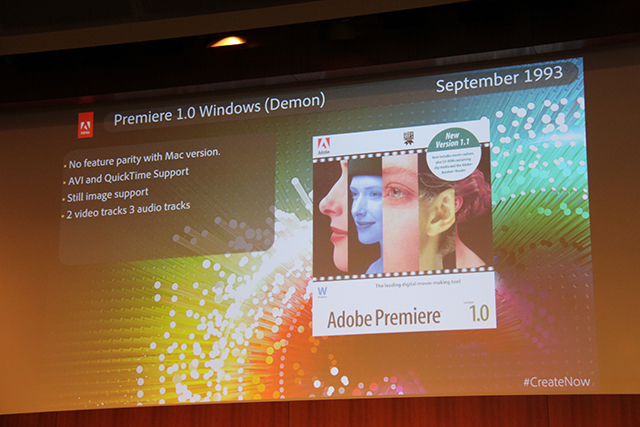 Premiere Pro World Conference: The History of Premiere Pro 2
