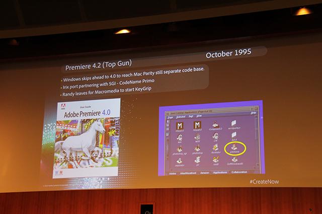 Premiere Pro World Conference: The History of Premiere Pro 3