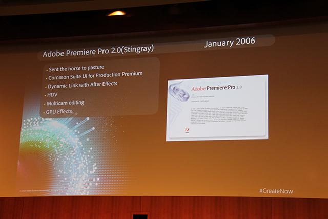 Premiere Pro World Conference: The History of Premiere Pro 6