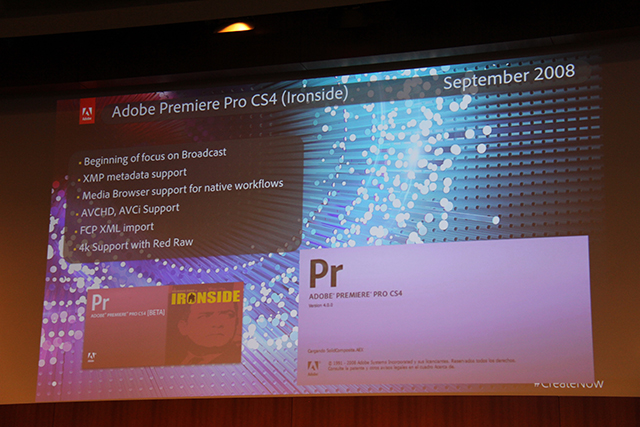 Premiere Pro World Conference: The History of Premiere Pro 8