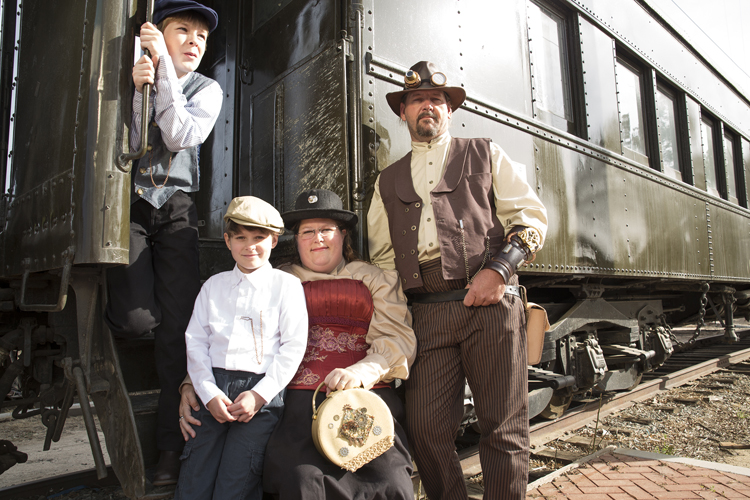 steamunk train final