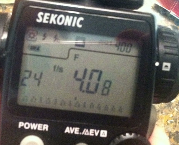 A Light Meter Party Trick 15