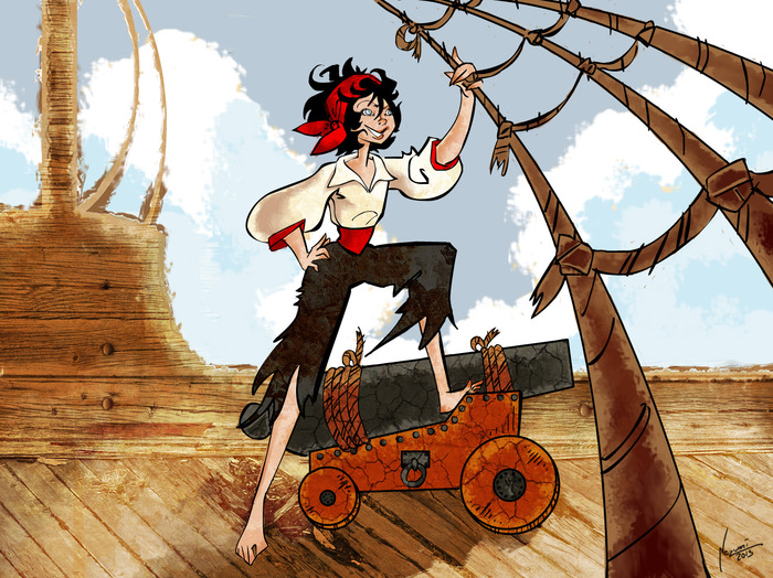 The Awesomeness of Female Pirates - An Interview with Author, Andrea Phillips 3