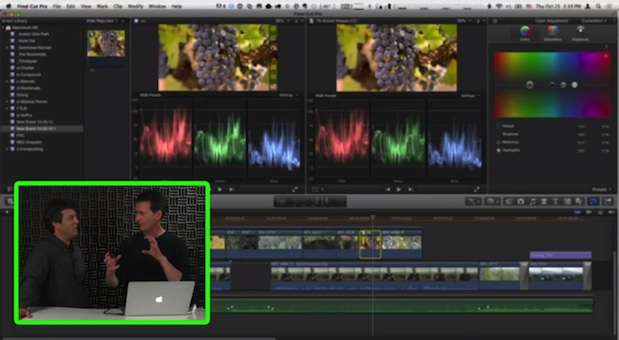 Working with Dual Viewers in Final Cut Pro X 4