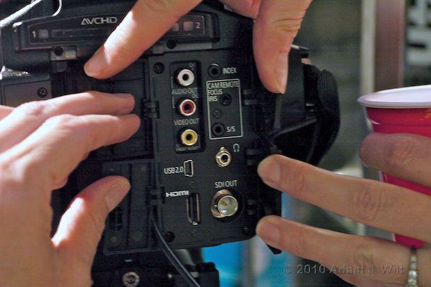 Quick Look: Panasonic AG-AF100 MFT Cine-Style Camcorder 28