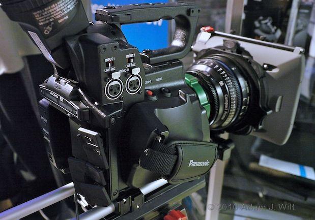Quick Look: Panasonic AG-AF100 MFT Cine-Style Camcorder 31