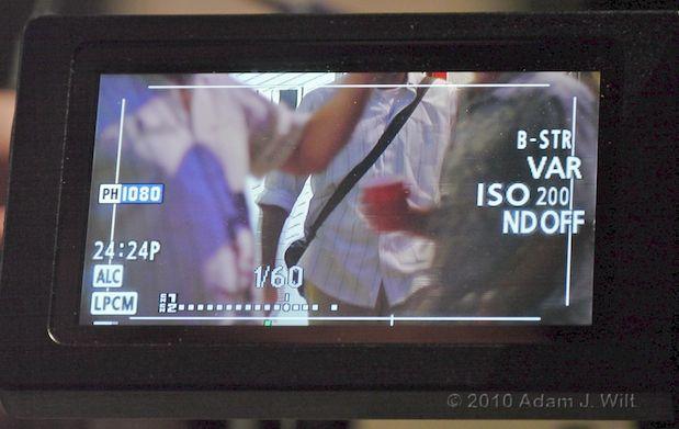 Quick Look: Panasonic AG-AF100 MFT Cine-Style Camcorder 29