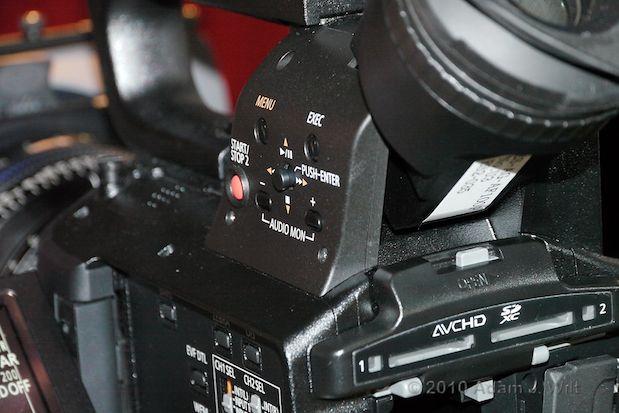 Quick Look: Panasonic AG-AF100 MFT Cine-Style Camcorder 34