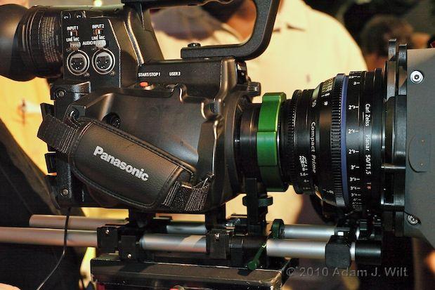 Quick Look: Panasonic AG-AF100 MFT Cine-Style Camcorder 27