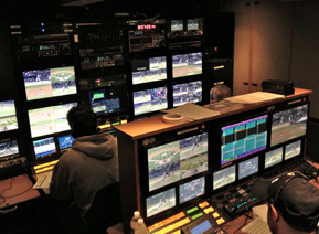 Mobile production truck converts to HD and Matrox MicroQuad multiviewers go along for the ride 10