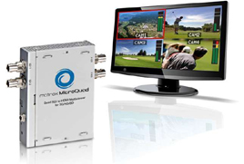 Mobile production truck converts to HD and Matrox MicroQuad multiviewers go along for the ride 8