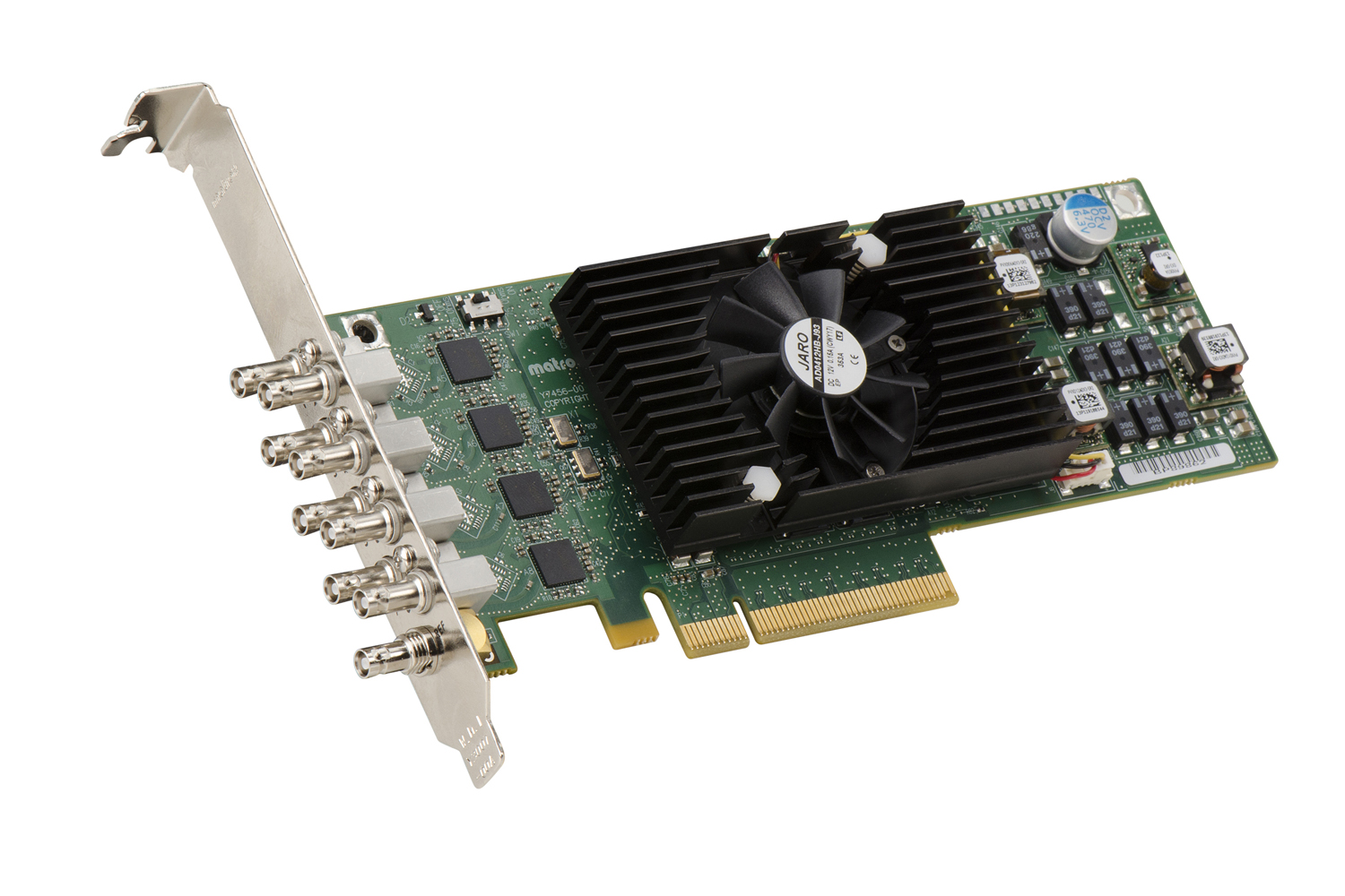 Matrox Announces Low-Profile, Multi-Channel SDI Card with High-Performance Hardware Processing 4