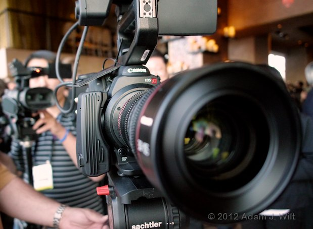 NAB Sunday: Canon's Presentation 112