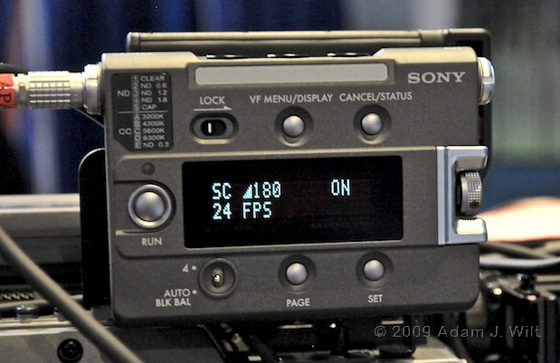 NAB 2009 - Zeiss Compact Primes, Sony SRW-9000, etc. 33