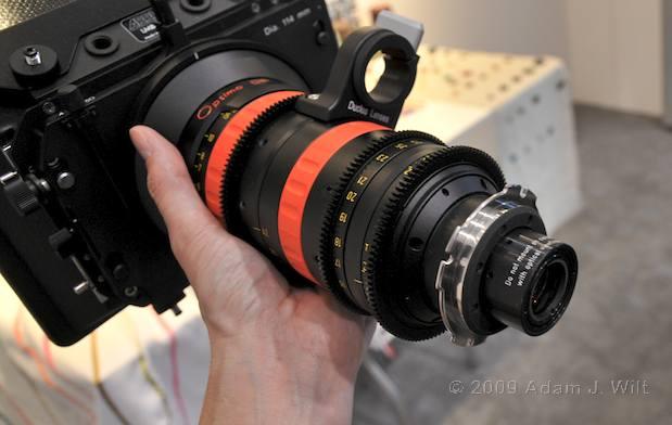 NAB 2009 - New PL Mount Lenses 38