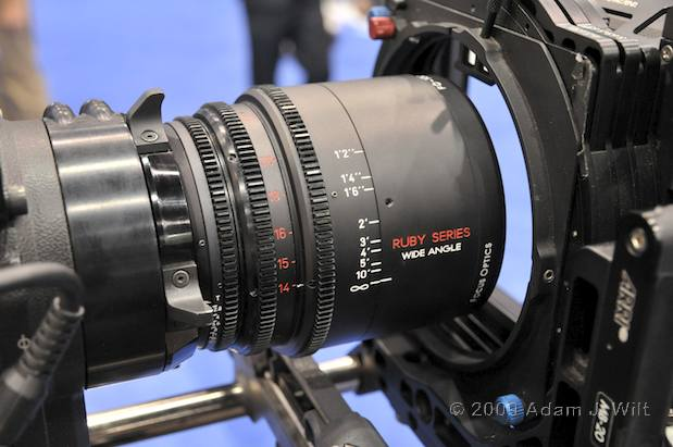 NAB 2009 - New PL Mount Lenses 36