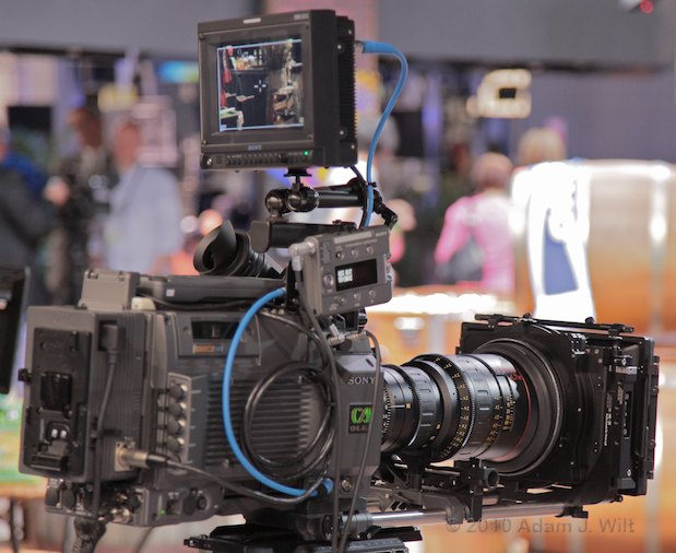 NAB 2010: Sony, Sunday Night 21