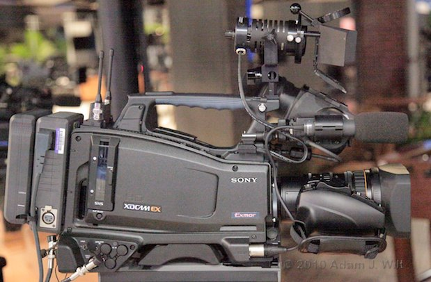 NAB 2010: Sony, Sunday Night 23