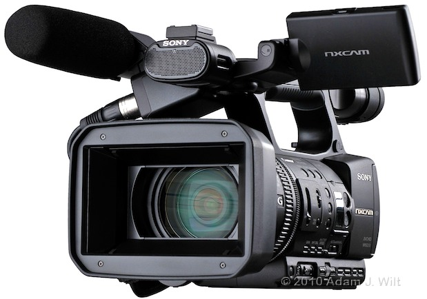 "Preview: Sony HXR-NX5U 1/3"" 3-CMOS AVCHD Camcorder 69"