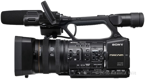 "Preview: Sony HXR-NX5U 1/3"" 3-CMOS AVCHD Camcorder 72"
