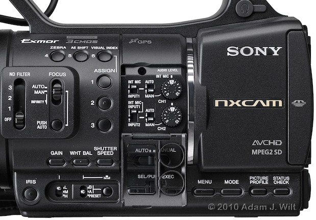 "Preview: Sony HXR-NX5U 1/3"" 3-CMOS AVCHD Camcorder 76"