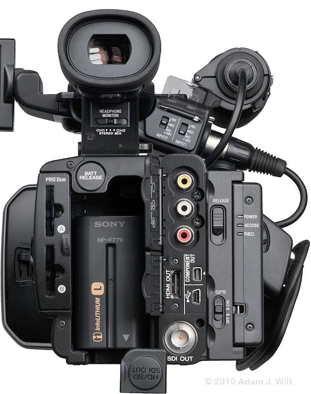"Preview: Sony HXR-NX5U 1/3"" 3-CMOS AVCHD Camcorder 79"