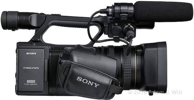 "Preview: Sony HXR-NX5U 1/3"" 3-CMOS AVCHD Camcorder 83"