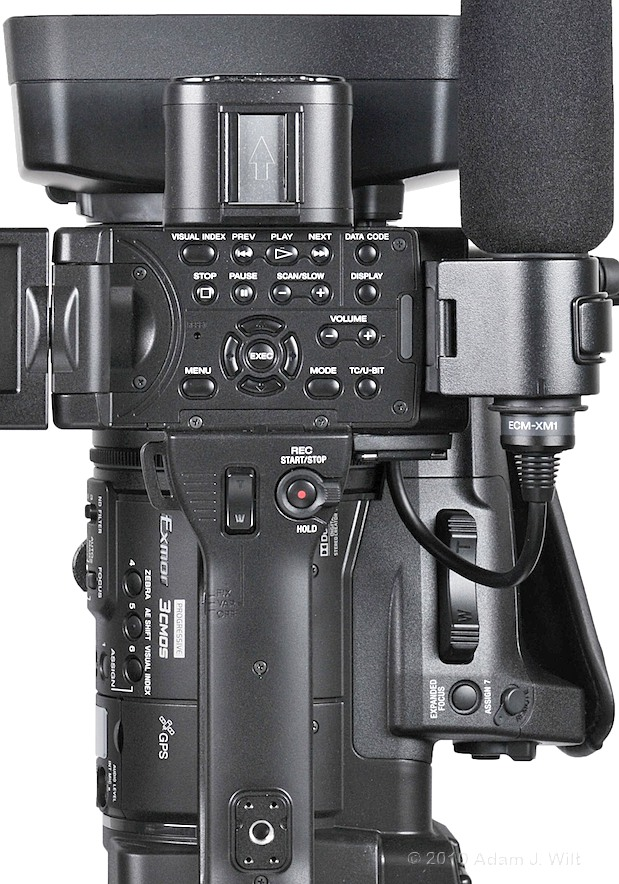 "Preview: Sony HXR-NX5U 1/3"" 3-CMOS AVCHD Camcorder 86"