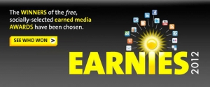PR Newswire Announces the Winners of the 2012 Earnies Awards Program 3