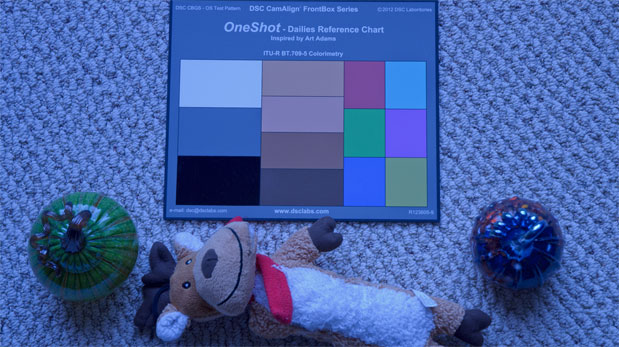 CAMERAS: Rough Guide to Color Grading with the DSC Labs OneShot 54