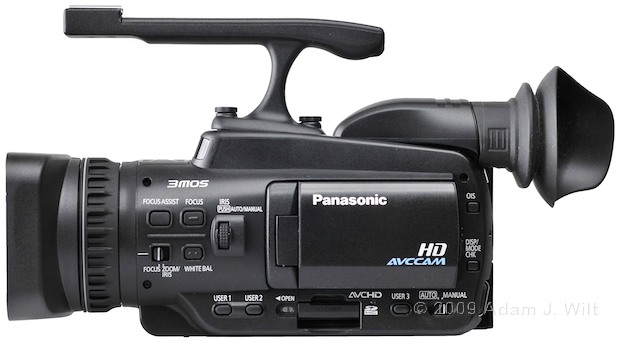 "Review: Panasonic AG-HMC40 1/4"" 3-CMOS HD Camcorder 106"