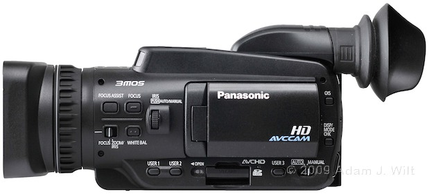 "Review: Panasonic AG-HMC40 1/4"" 3-CMOS HD Camcorder 105"