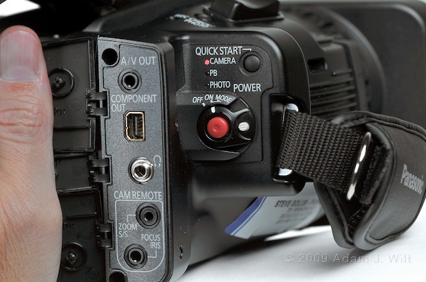 "Review: Panasonic AG-HMC40 1/4"" 3-CMOS HD Camcorder 120"