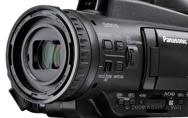 "Review: Panasonic AG-HMC40 1/4"" 3-CMOS HD Camcorder 109"