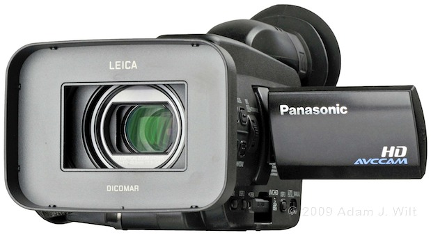 "Review: Panasonic AG-HMC40 1/4"" 3-CMOS HD Camcorder 103"