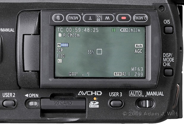 "Review: Panasonic AG-HMC40 1/4"" 3-CMOS HD Camcorder 114"