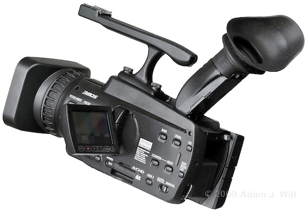 "Review: Panasonic AG-HMC40 1/4"" 3-CMOS HD Camcorder 117"
