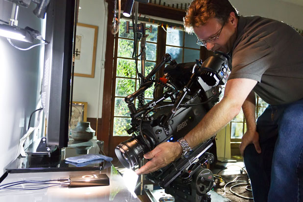 Arri Alexa and Rosco LitePads Come Through for OnLive's First National Spot 58