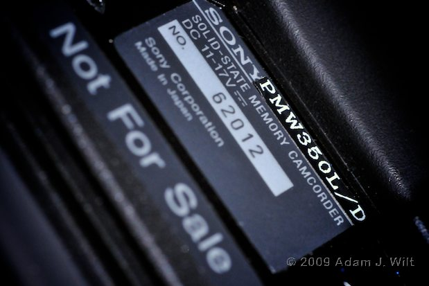 Something BIG from Sony—XDCAM EX Grows Up. 12
