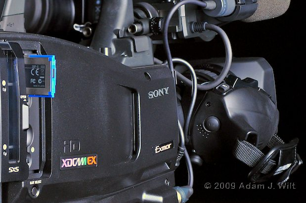 Something BIG from Sony—XDCAM EX Grows Up. 10