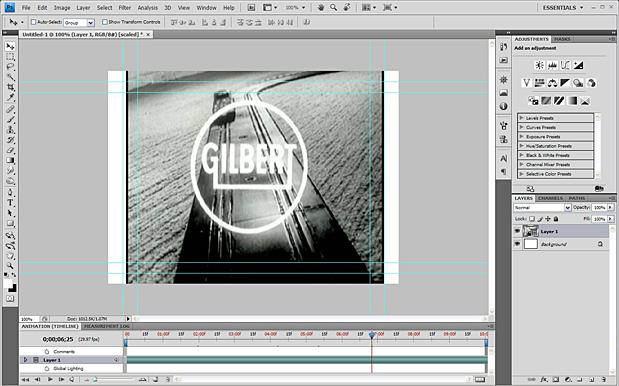Basic Video Editing with Photoshop CS4/CS5 Extended 42