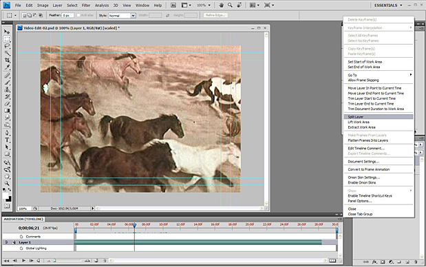 Basic Video Editing with Photoshop CS4/CS5 Extended 50