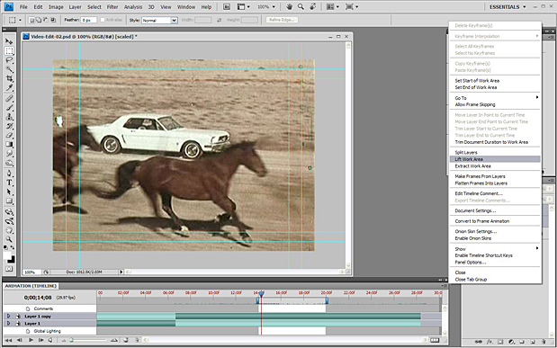 Basic Video Editing with Photoshop CS4/CS5 Extended 52