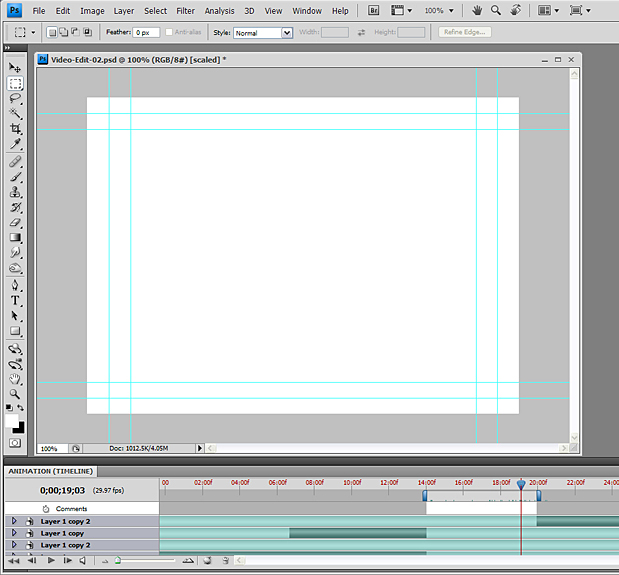 Basic Video Editing with Photoshop CS4/CS5 Extended 53