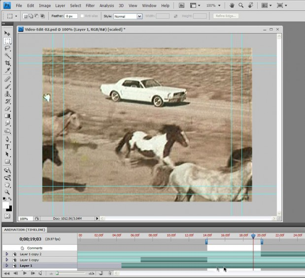 Basic Video Editing with Photoshop CS4/CS5 Extended 39