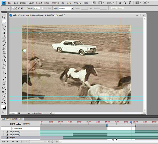 Basic Video Editing with Photoshop CS4/CS5 Extended 54
