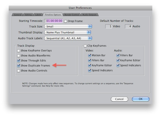 Quicktips 2011 Day 12: Dupe detection in Avid, FCP and kinda in