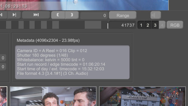 REDCine 3.1.8; Widescreen LCD; Wilt Sells Out 3