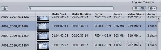 RED+FCP: Native REDcode Importing 29